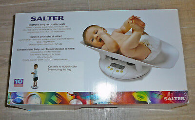 Salter Electronic Baby Toddler Scale Weighing Tray Child 914