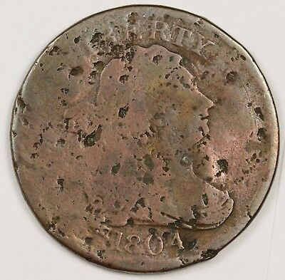 1804 Half Cent.  Circulated.  121122