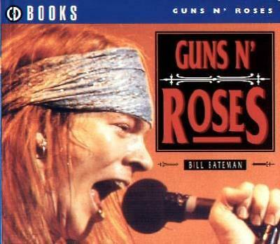GUNS N ROSES Axl Rose Slash GNR -IMPORT italy-1996 Small 120 page CD BOOK Books