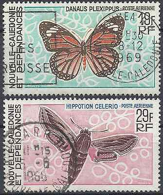 New Caledonia Pa N°92/93 - Obliteration Stamp Has Date