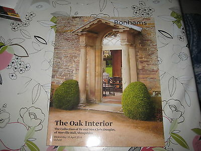 Bonhams Catalogue The Oak Interior Sale Apr14 Inc Collection Morville Hall Shrop