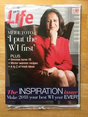 WI LIFE Magazine ... Women's Institute ... Issue 89 February 2018 Edition.