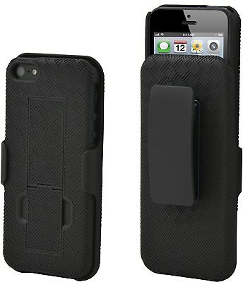 iPhone SE / 5S / 5 Case, Aduro COMBO Shell & Holster Case [Lifetime Warranty]