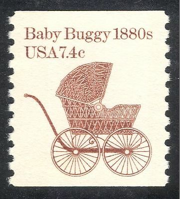 USA 1981 Baby Buggy/Pram/Pushchair/Perambulator/Transport 1v coil (n43762)