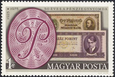 Hungary 1975 State Printing Office/Money/Bank Notes/Currency/Commerce 1v n45616