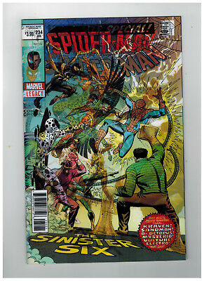 SPIDER-MAN #234  1st Printing - Lenticular Variant Cover    / 2018 Marvel Comics