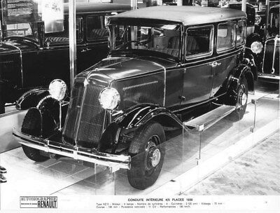 1930 Renault Saloon Type KZ 5 ORIGINAL Factory Photo oua2005