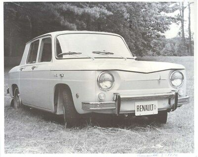 1970 Renault 8 ORIGINAL Factory Photo oua2091