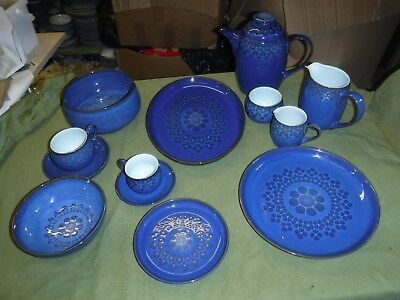 Denby /Langley Tableware Midnight Items