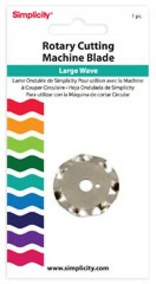 Simplicity Tools Rotary Cutting Blade Large Wave (881973)