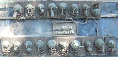 antique electric Musical Bells. Rowland Mayland, Brooklyn NY, early 1900s