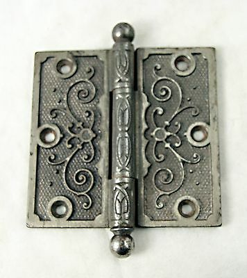 Ornate Cast Iron Victorian Door Hinge