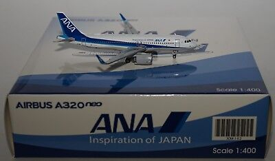 JC Wings xx4102 Airbus a320-271neo ANA ALL NIPPON AIRWAYS ja211a in 1:400 Scala