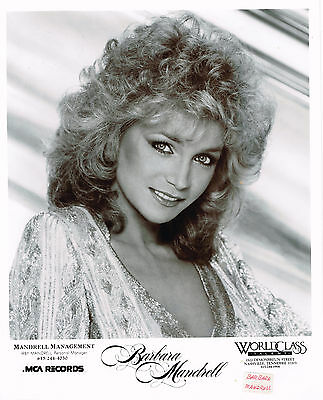 "Barbara Mandrell original 8x10"" publicity photo"