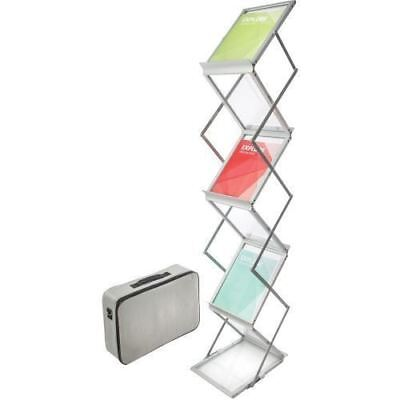 Deflect-o Collapsible Literature Floor Stand 791061