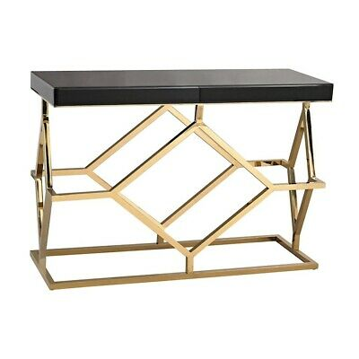 Dimond Home Deco Console Table, Black and Gold - 1114-169