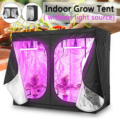 Indoor Hydroponic Greenhouse Grow Plant Lighting Reflective Tent Room Box Home