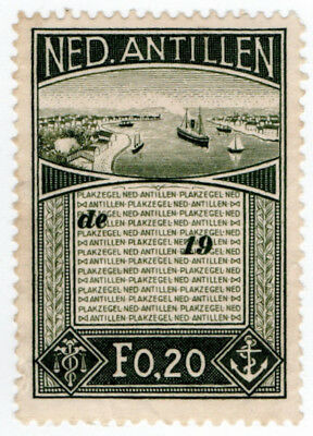 (I.B) Netherlands Antilles Revenue : Duty Stamp 20c