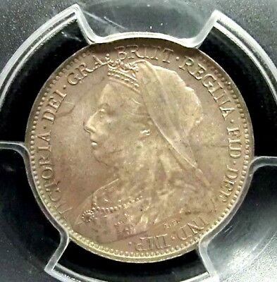 Great Britain 1898 Victoria PCGS PL66 Secure Silver 4 Pence Super GEM Prooflike