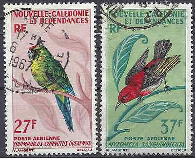 New Caledonia Pa N°88/89 - Obliteration Stamp Has Date