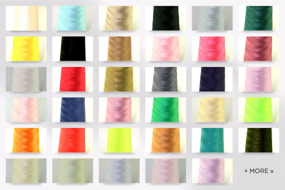 Budget 120s Polyester Sewing Thread Cone - each (B5000-M)