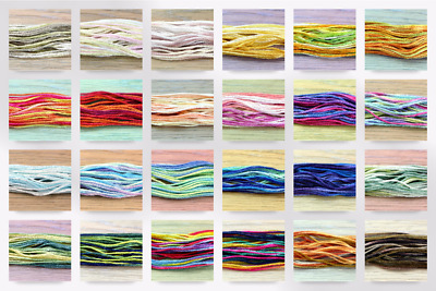 Anchor Multi Colour Stranded Cotton Embroidery Thread - per pack of 2 (2H4615-M)