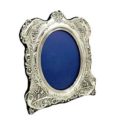 """Antique Sterling Silver 8"""" Photo Frame 1901"""
