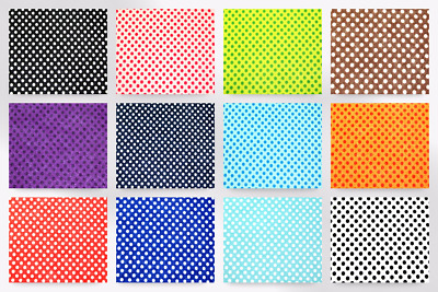 Camelot Fabrics Spotty Printed Hard Craft Felt (FeltHard-218001-M)
