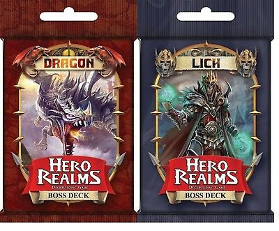 Hero Realms Boss Decks