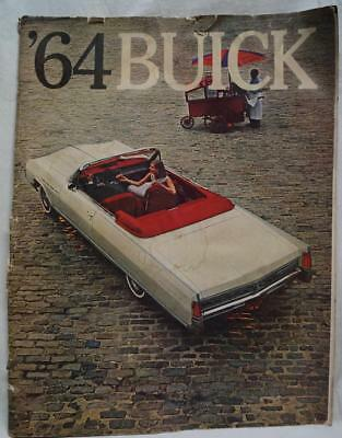1964 Buick Automobile Dealers Advertising Sales Brochure Guide Vintage