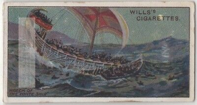 1120 Wreck Of The White Ship Anarchy Civil War England 100+ Y/O Trade Card