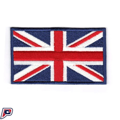 United Kingdom UK of Great Britain Embroidered Country Flag Iron On Patch Team