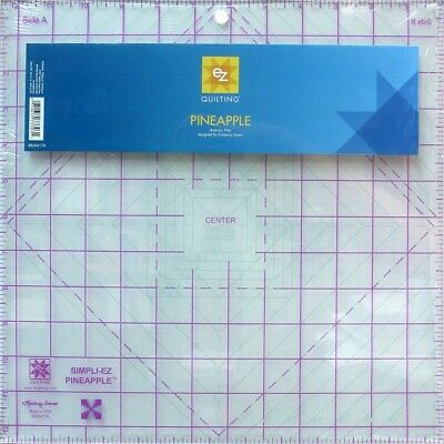 EZ Pineapple Acrylic Quilting Template (8829417A)