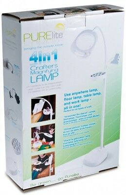 Purelite 4 in 1 Crafters Magnifying Lamp (CFPL14)
