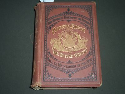 1874 The Centennial History Of The United States Book By James D. Mccabe - H 129