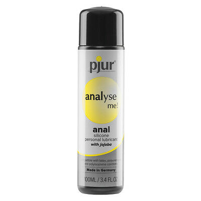 New Pjur Analyse Me Comfort Silicone Based Anal Glide Lubricant Lube 100 ml