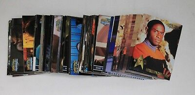 Star Trek Fleer Trading Cards 1998/1999 Large Wholesale Lot **Over 100 Cards**