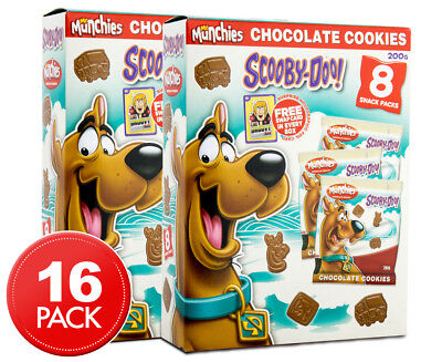 2 x Mr. Munchy's Scooby Doo Chocolate Cookies 8pk