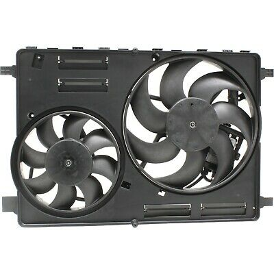 Dual Radiator and Condenser Fan Assembly TYC 623840