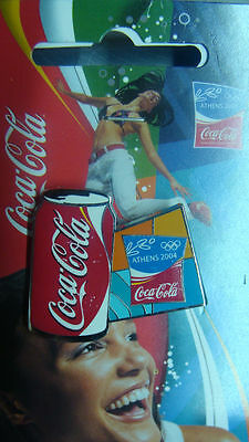 Can Coca Cola Athens 2004 Olympic Pin