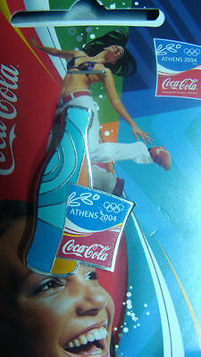 Bottle Coca Cola Athens 2004 Olympic Pin