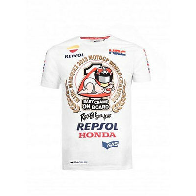 Marc Marquez 2013 World Championship Limited Edition T-Shirt L Only