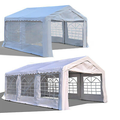 Patio Gazebo Wedding Partt Tent Canopy Carport Portable Sun Shelter 2 Sizes