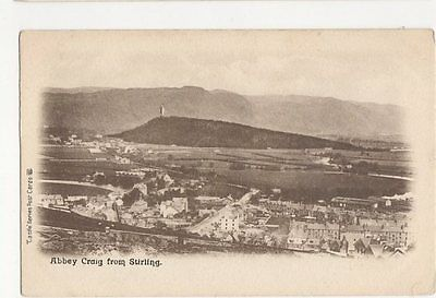 Abbey Craig From Stirling Vintage Postcard 0916