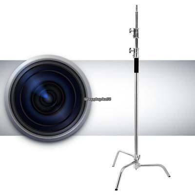 10ft Heavy Duty Stainless Steel Photo Video Century C- Light Stand Fold EH7E