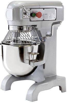 Quattro B10K 10 ltr Planetary Mixer + FREE Dough Hook, Beater and Whisk