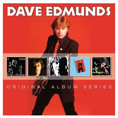 Dave Edmunds ORIGINAL ALBUM SERIES Repeat When Necessary GET IT New Sealed 5 CD