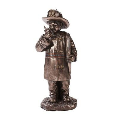 "Child Playing As Firefighter Ornament Figurine 6""  - New - Free Shipping"