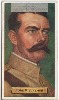 Lord Kitchener Boer War British Army Officer  80+ Y/O Trade Ad Card