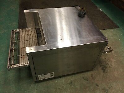 BELLECO JB-3H Countertop Finishing Commercial Conveyor Pizza Oven Toaster 208V
